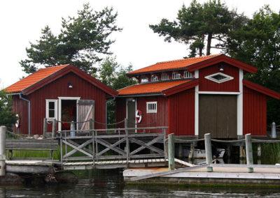 Brygga och båthus