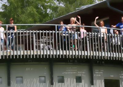 Balkonghälsning